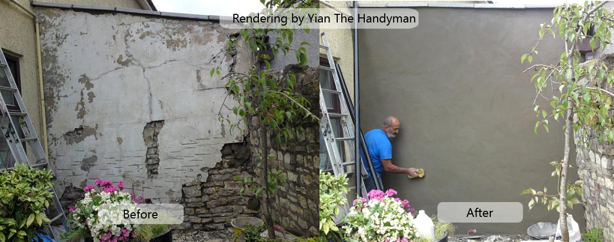 Wall Rendering by Yian the Handyman