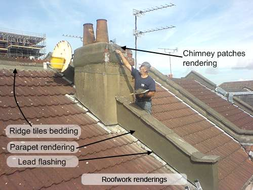 Rendering on the Roof